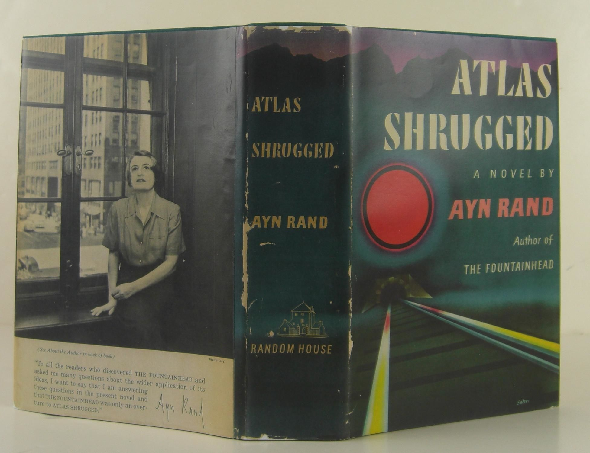 Atlas Shrugged by Ayn Rand - Hardcover - Second Printing