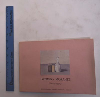 New York: Philippe Daverio Gallery, 1990. Paperback. VG- light wear and soiling to wraps.. Pink card...