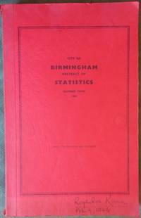 City of Birmingham Abstract of Statistics No.9 1964
