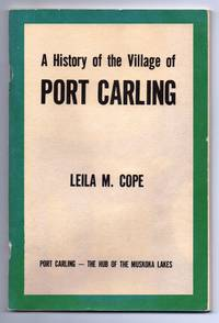 A History of the Village of Port Carling