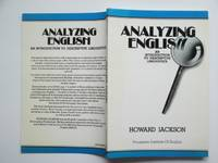 image of Analysing English: an introduction to descriptive linguistics