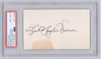 Elizabeth Taylor Signature, PSA/DNA Encapsulated and Graded NM-MT 8