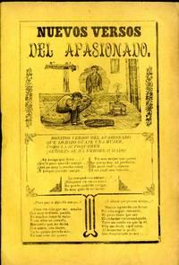 Nuevos Versos del Apasionado (broadside corrido)