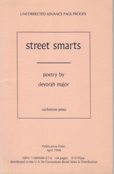 Willimantic: Curbstone Press. 1996. First Edition; First Printing. Softcover. Glossy wraps, advance ...