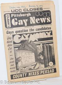 image of Pittsburgh Gay News: for the Pittsburgh area gay community; #14, Saturday, October 5, 1974: Gays Question Candidates/UCC Closes Doors