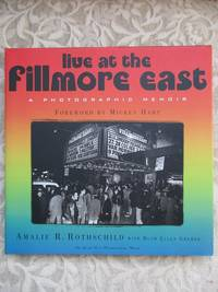 image of Live At The Fillmore East.  A Photographic Memoir  SIGNED COPY, WITH SLIPCASE