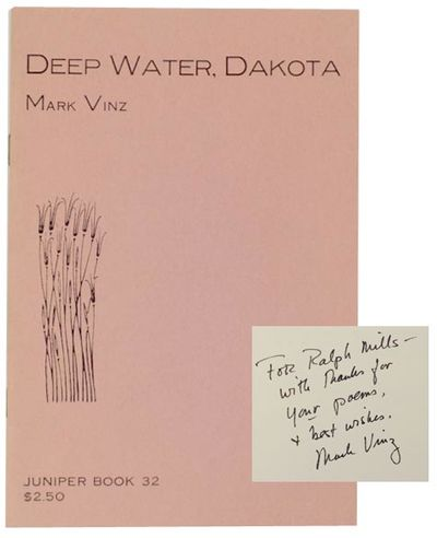 La Crosse, WI: Juniper Press, 1980. First edition. Softcover. 12 pages. Juniper 32. A collection of ...