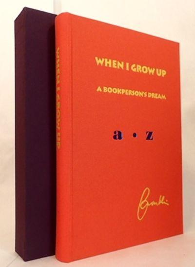 WHEN I GROW UP: A BOOKPERSON'S DREAM