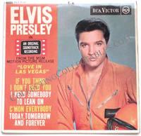 Elvis Presley Love In Las Vegas EP