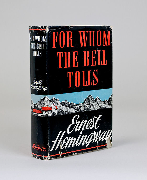 a review of ernest hemingways novel for whom the bell tolls When ernest hemingway's now-classic novel for whom the bell tolls was released, exactly 75 years ago on wednesday, the author's fans had some cause to tamp down their expectations.