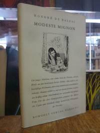 Modeste Mignon - Novellen, by  Honore de Balzac - First Edition - 1953 - from Antiquariat Orban & Streu GbR and Biblio.com