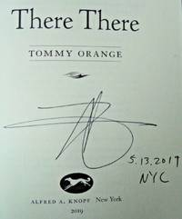 THERE THERE  (SIGNED, DATED & NYC)