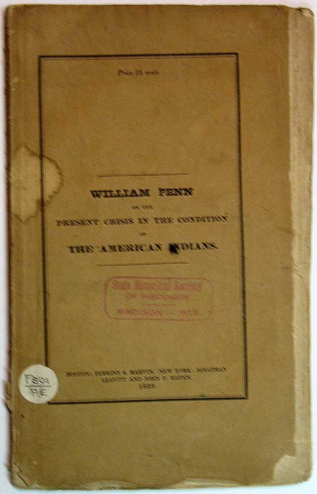 william penn essays jeremiah evarts 2017-02-17  did you know facts about american indian removal 1 in 1813,  the christian missionary jeremiah evarts published a series of newspaper articles  william penn essays.