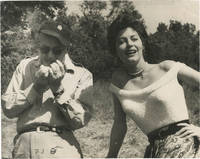 image of Mogambo (Original photograph of John Ford and Ava Gardner on the set of the 1953 film)