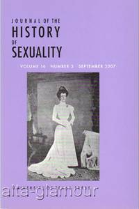JOURNAL OF THE HISTORY OF SEXUALITY; Special Issue: LatinAmerican Sexualities