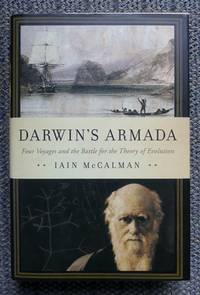 image of DARWIN'S ARMADA:  FOUR VOYAGES AND THE BATTLE FOR THE THEORY OF EVOLUTION.