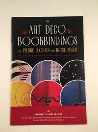 The Art Deco Bookbindings of Pierre Legrain and Rose Adler