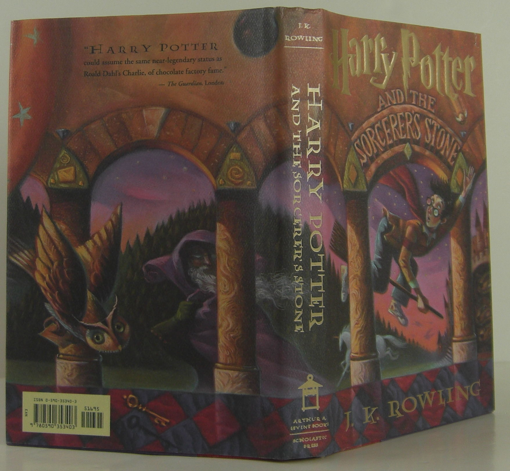 Harry Potter And The Sorcerer 39 S Stone By J K Rowling
