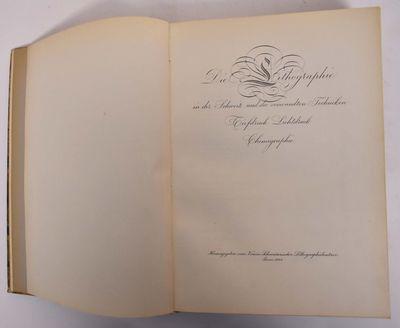 Bern: Herausgegeben vom Verein Schweizerischer Lithographiebesitzer, 1944. Leather bound. VG-, leath...