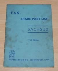 image of F & S Spare Part List - Sachs 50, 1954 Edition