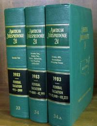 American Jurisprudence 2d. 1983 Federal Taxation Vols. 33-34A 3 books