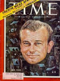 Autograph Signature, in Time Magazine, August 18, 1958