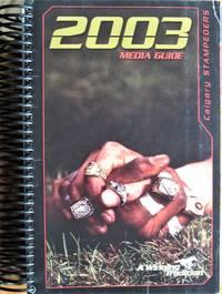 image of Calgary Stampeders Media Guide 2003