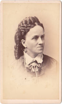 image of Vintage Photograph of Ladies Hairstyle by Geo. F. Parlow New Bedford MA