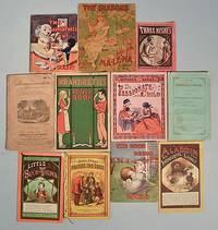 11 ANTIQUE CHILDREN'S MINIATURE BOOKS CIRCA 1850-1930 [Lbc]