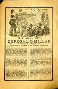 El Fusilamiento de Rosalio Millan