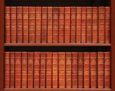 London: Macmillan and Company, 1937. 35 volumes, large 8vo. (9 1/2 x 6 1/2 inches). Original full ru...