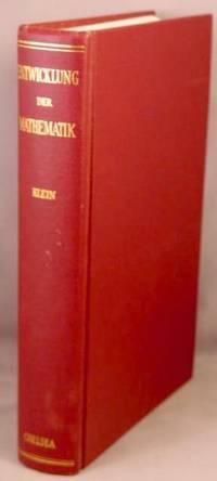 image of Vorlesungen Uber die Entwicklung der Mathematik im 19. Jahrhundert. Two volumes in one.