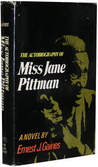 The Autobiography of Miss Jane Pittman by  Ernest J Gaines - First Edition, First Printing - 1971 - from Parrish Books (SKU: 649)