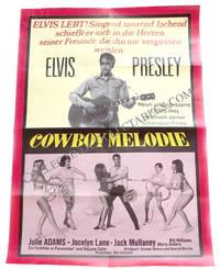 Elvis Presley Tickle Me German Poster