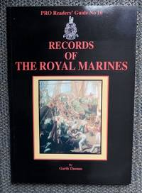image of RECORDS OF THE ROYAL MARINES.  PRO READERS' GUIDE No 10.  (PUBLIC RECORD OFFICE.)