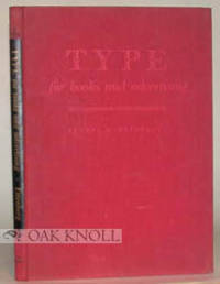 image of TYPE FOR BOOKS AND ADVERTISING