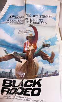 Black rodeo: a film by Jeff Kanew (movie poster)