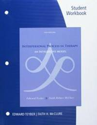 image of Student Workbook for Teyber/McClure's Interpersonal Process in Therapy: An Integrative Model, 6th