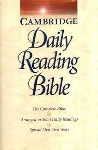 NRSV Cambridge Two-Year Daily Reading Edition Sewn Paperback: Daily Reading Bible - The Complete...