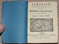 image of Almanach supputé sur le Méridien de Liège par Maître Mathieu Laensbergh, mathématicien, pour l'année 1841