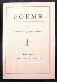 Poems By Marguerite Janvrin Adams