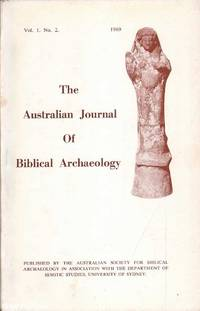 The Journal of Biblical Archaeology: Vol. 1 No. 2 by E.  Stockton (ed.) - Paperback - First Edition - 1969 - from Mr Pickwick's Fine Old Books (SKU: 29346)