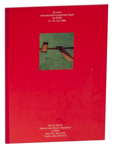 Dusseldorf: Galerie Hans Mayer, 1989. First edition. Exhibition catalog for the works of art that th...