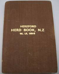 image of The Herd Book of the New Zealand Hereford Cattle Breeders' Association Volume LIV