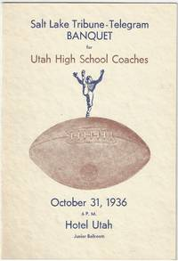 Banquet for Utah High School Coaches