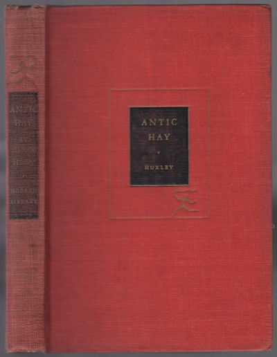 New York: Modern Library, 1923. Hardcover. Very Good. Reprint. 350, pp. Red cloth boards with gilt t...