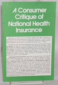 image of A Consumer Critique of National Health Insurance