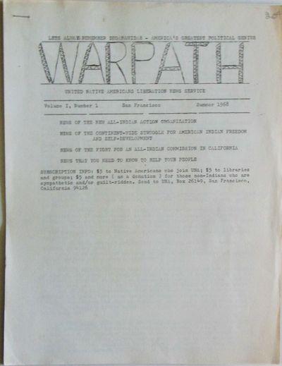 Warpath. United Native Americans...