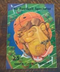 image of The Football Spectator: Santa Clara Vs. Loyola Program Sunday November 24,  1940