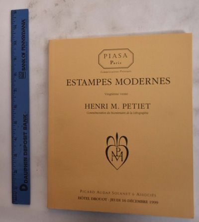 Paris, France: Piasa / Picard Audap Solanet & Associes, 1999. Softcover. VG. creasing to bk cover co...